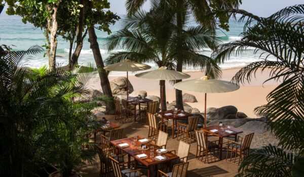 Amanpuri, Thailand - F&B, Beach Terrace, Casual Dining, Overhead_High Res_12478