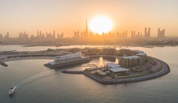 a The Bvlgari Resort Dubai - Jumeira Bay Island by sunset - Copy